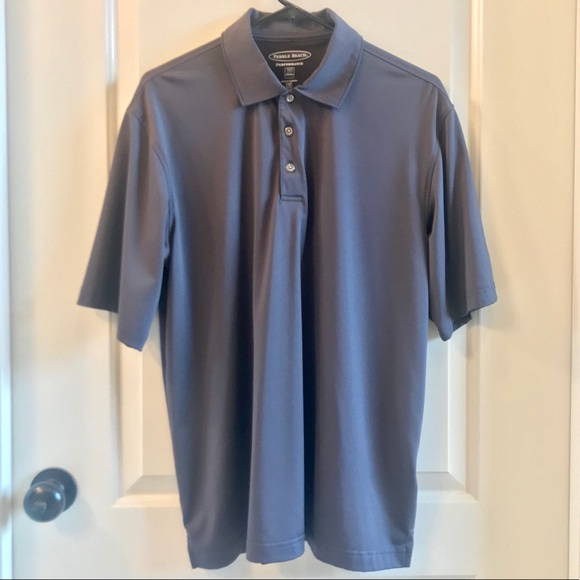 Pebble Beach Other - ⛳️NWOT⛳️ Pebble Beach Solid Golf Polo